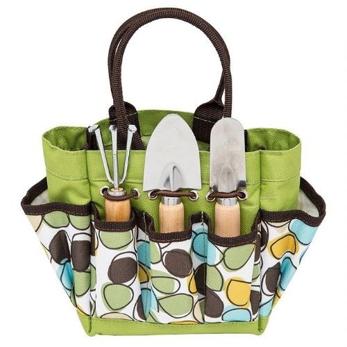 Gardeners Pebble Design Small Garden Tool Set